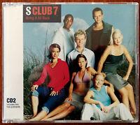 S Club 7 Bring It Back CD single + Postcard 561 087-2 – Ex