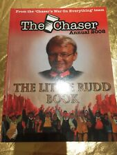 'The Chaser Annual 2008' The Little Rudd Book Comedic China Themed Front CoverPB