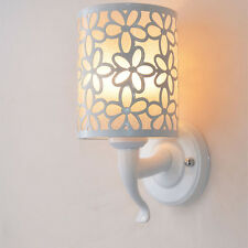 Minimalist Flower Carving Wall Lamp Light For Bed Side Living Room Aisle Light