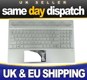 New HP 15-CS keyboard Silver US ** same day dispatch on orders before 5:30pm **
