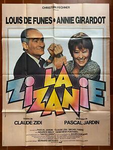 Poster The Discord Claude Zidi Louis de Funès Annie Girardot 120x160cm
