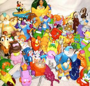 60 Vintage McDonalds Happy Meal Toys ~ Disney, Barbie, Cabbage Patch, WAY MORE!