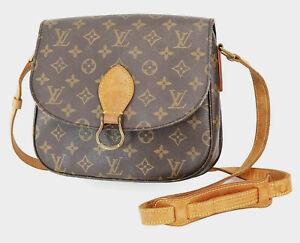 Authentic LOUIS VUITTON Saint Cloud GM Monogram Shoulder Bag #38836