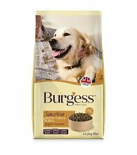 Burgess Sensitive Adult Turkey & Rice 12.5kg - 18922
