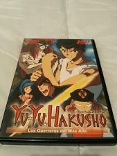 Yu Yu Hakuso Los Guerreros Del Mas Allá La serie Volumen 3 Capitulos 11-15 Dvd