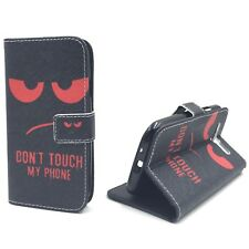 Housse de protection pour Samsung Galaxy S3/S3 Neo Don't touch rouge Etui +