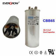 4075uf Mfd Motor Dual Run Capacitor For Trane Rheem Air Conditioner Ul Listed