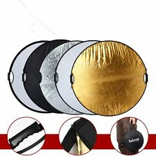 Light Reflector 110cm 43' Photography Studio Multi Photo Disc Collapsible 5-in-1