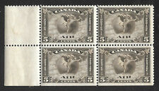 Canada  # C 2 margin block of 4 OG  Scott 2010 Cat Val $340.00+ as 4 singles