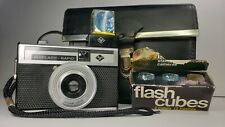 Agfa Isoflash-Rapid C 35mm Camera With Isinar Lens Rapid Cartridge
