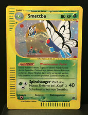 Smettbo Holo Expedition Near Mint + German Butterfree Pokemon Card
