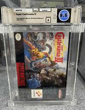 Nintendo SNES Game Super Castlevania IV Brand New Factory Sealed WATA 8.5 A VGA