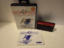 Monopoly para Sega Master System OVP