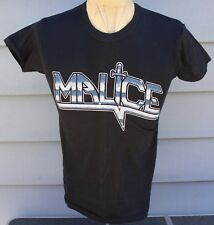 Rare 1984 Malice West Coast Assault Tour T-Shirt Medium Vintage Original Og