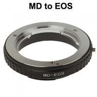 Minolta MD MC Mount Lens to Canon EOS Camera Adapter UK Seller