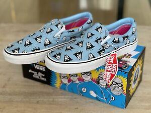 Aquabats Vans Classic Slip On Shoes RARE w/ Box Never Worn Size 8.5