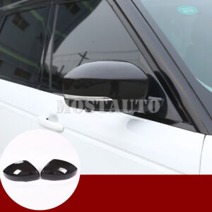 For Land Rover Discovery 4 LR4  Carbon Fiber Style Rearview Mirror Cover(14-16)