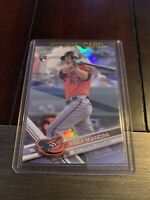 TREY MANCINI 2017 Topps Chrome Rookie Refractor 47 Orioles RC MLB MINT FREE SHIP