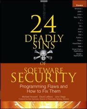 24 Deadly Sins of Software Security: Programming Flaws and How to Fix Them, Vieg