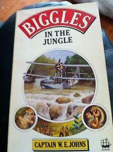 Biggles in the Jungle by Johns, W. E.