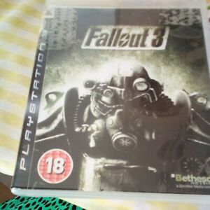 FALLOUT 3 PS3 SONY PLAYSTATION 3 GAME With Manual