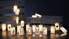 20 LED Lichterkette Fensterdeko Leuchtdeko mit Schriftzug zum selber Gestalten