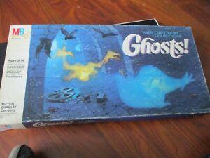 Vintage 1985 Milton Bradley GHOSTS! Board Game