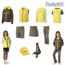 NEW OFFICIAL BROWNIE UNIFORM HOODIE GILET T-SHIRT LEGGINGS SKORT CAP SASH SHORTS