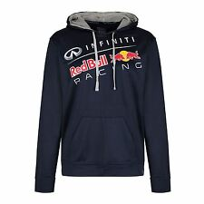 RED BULL INFINITY FUNCTIONAL LOGO HOODIE NAVY SIZES S M L XL F1 PEPE JEANS