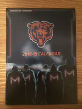 2018 - 2019 Chicago Bears Calendar Season Preview Book Special Edition
