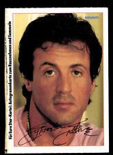 Sylvester Stallone Autogrammkarte TOP ## BC 98999 D