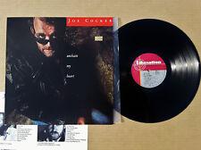 Original 1987 Joe Cocker Unchain my Heart LP 33 vinyl record album Capitol MINT