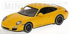 Porsche 911 GTS 997 II 2011 gelb yellow 1:43 Minichamps