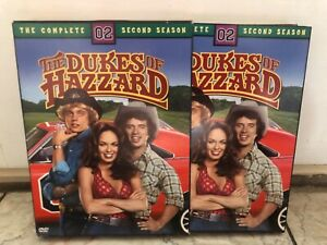 Dukes of Hazzard - The Complete Second Season (DVD, 2005, 4-Disc Set) COMPLETE