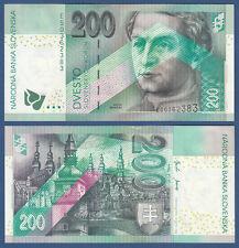 SLOWAKEI / SLOVAKIA 200 Korun 2002 UNC  P.41
