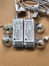 2x Elektronischer Halogen / Trafo 12V Transformator 35 -105W Dimmbar Niedervolt