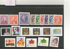 Canada-not used - 1952 - 1954 - 2000 - 2003