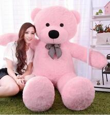 78in.Giant Huge pink Teddy Bear Stuffed Animal Plush Soft toys doll +Ems Ship