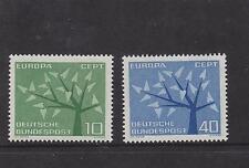 WEST GERMANY MNH STAMP DEUTSCHE BUNDESPOST 1962 EUROPEAN TREE  SG 1297-1298