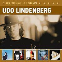 UDO LINDENBERG - 5 ORIGINAL ALBUMS (VOL.3) 5 CD NEW