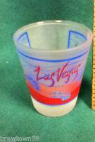 Las Vegas city gamble shot glass bar glass 1 shooters barware glassware AG9