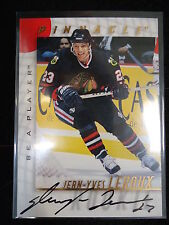 Jean-Yves Leroux 1998 Pinnacle Be A Player Autograph