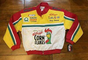 Terry Labonte #5 Kelloggs Corn Flakes Racing Jacket Mens Size Large NASCAR New