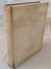 FABRES BOOK OF INSECTS - MRS RODOLPH STAWELL - FIRST EDITION 1921