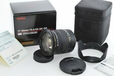 Sigma 17-50mm F2.8 EX DC OS HSM for CANON MINT with Hood 13916743 #1402-004