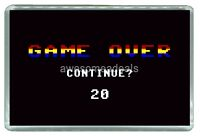 Game Over Video Game - Quality Photo Fridge Magnet 3'' x 2''