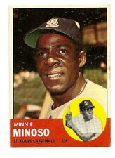 Minnie Minoso 1963 Topps #190 EX St. Louis Cardinals