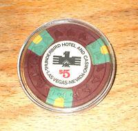 $5. Thunderbird Hotel Casino Chip - Las Vegas, Nevada - 1973 - Horse Head