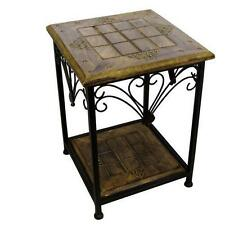 Less than 30 cm Width Square Traditional Side & End Tables