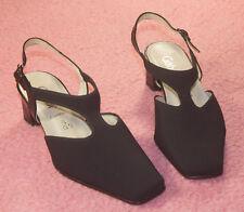 GABOR  ♥ Sling Pumps ♥ Schuhe ♥ Gr 2,5 ♥ comfort Weite G ♥ *TOP* ♥Textil+Leder♥